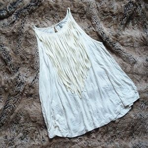 Urban Outfitters Ecoté Fringe Top